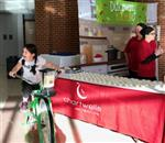 The smoothie bike was a big hit!